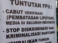 Forum Pers Independen Indonesia Siap Aksi KE-2 Dengan Kekuatan Lebih Besar