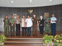 Komandan LANTAMAL XII Pontianak Hadiri Acara Lepas Sambut Kepala Kejaksaan Tinggi Kalbar