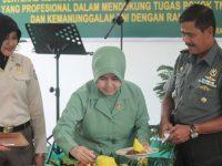 Kakumdam XII/Tanjungpura Pimpin Syukuran Hut Ke 65 Korps Hukum TNI AD