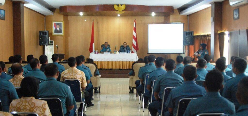 Lantamal XII Pontianak Menerima Kunjungan Kerja Ketua Yayasan Nala