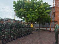 Prajurit Kesdam XII/Tpr Latihan Mountaineering