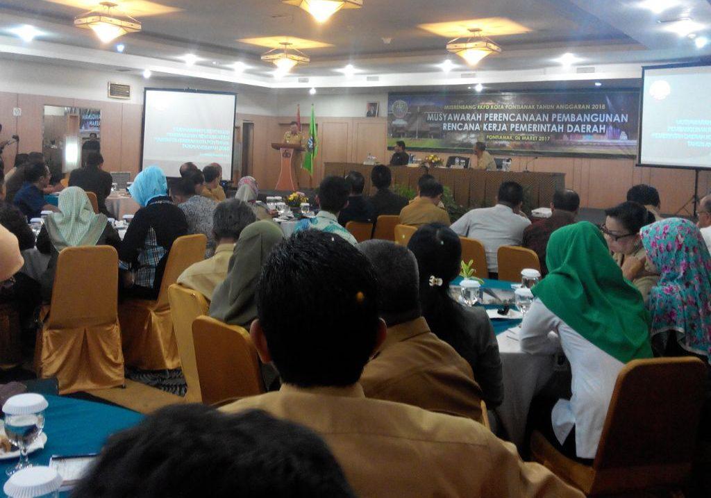 Musrembang RKPD Kota Pontianak Tahun Anggaran 2018 Di Buka Walikota Sutarmidji