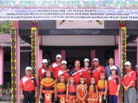 Wabup Sanggau Membuka O2SN dan FLS2N Kecamatan Parindu
