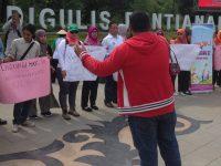 Demo Damai Di Hari Perempuan Internasional