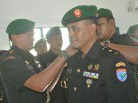 Dandim 1207/BS Terima Korp Raport Masuk Dan Lepas Pindah Satuan