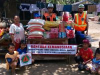 Pramuka Peduli Distribusikan Bantuan ke Korban Bencana Alam Kab Lima Puluh Kota