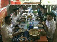 Presiden Resmikan PLBN Terpadu Indonesia -Malaysia Di Badau