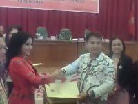 Karolin- Heriadi Ditetapkan Sebagai Pasangan Bupati/wakil Bupati Landak-2017-2022