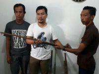 TNI Terima Empat Pucuk Senpi Dari Warga