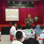 Kodim 1204 Sanggau Fasilitasi Penyerapan Gabah Petani 2017