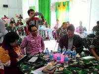 Kodim 1204 Sanggau Fasilitasi Rakor Upsus Pajale, Babe dan Siwab 2017