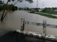 Banjir Rendam Ratusan Rumah di Sukadana