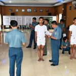 LANTAMAL XII PONTIANAK LAKSANAKAN SIDANG PANTUKHIR DAERAH SELEKSI PENERIMAAN CALON PRAJURIT TNI AL T.A 2017