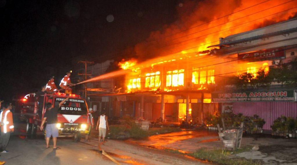 Korban Kebakaran Pasar Bodok Sanggau Kalbar Tunggu Bantuan Kemanusiaan