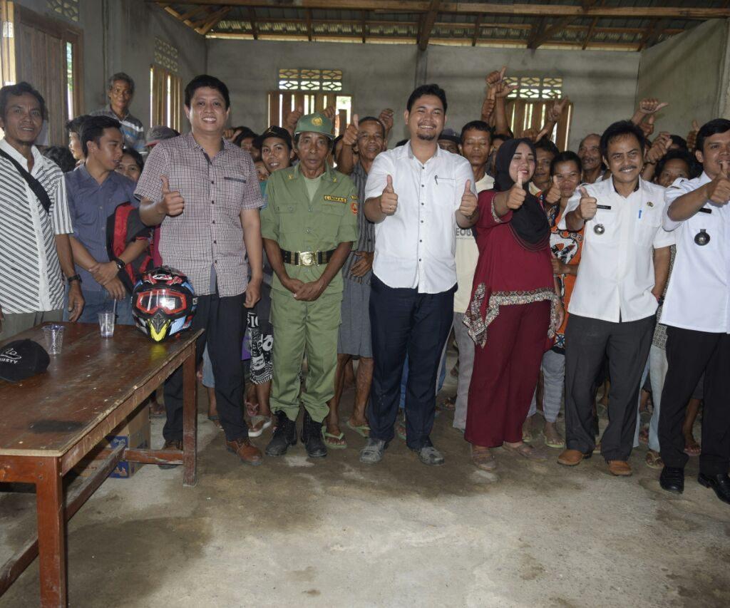 Dua Desa di Kecamatan Sompak Dapat Bantuan Stimulan Perumahan Swadaya