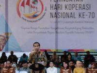 Presiden Ingatkan Penggerak Koperasi Tak Takut Berkompetisi
