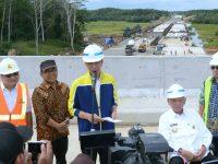 Presiden Targetkan Ruas Tol Balikpapan – Samarinda Selesai Desember 2018