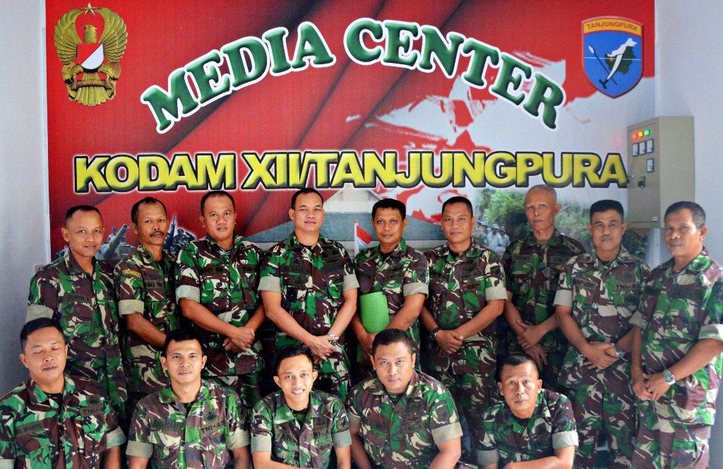 Kapendam XII/Tpr Yakin Para Dandim Akan Membuka Informasi Sebanyak – Banyaknya Saat di Kunjungi Media PKP dan FPII
