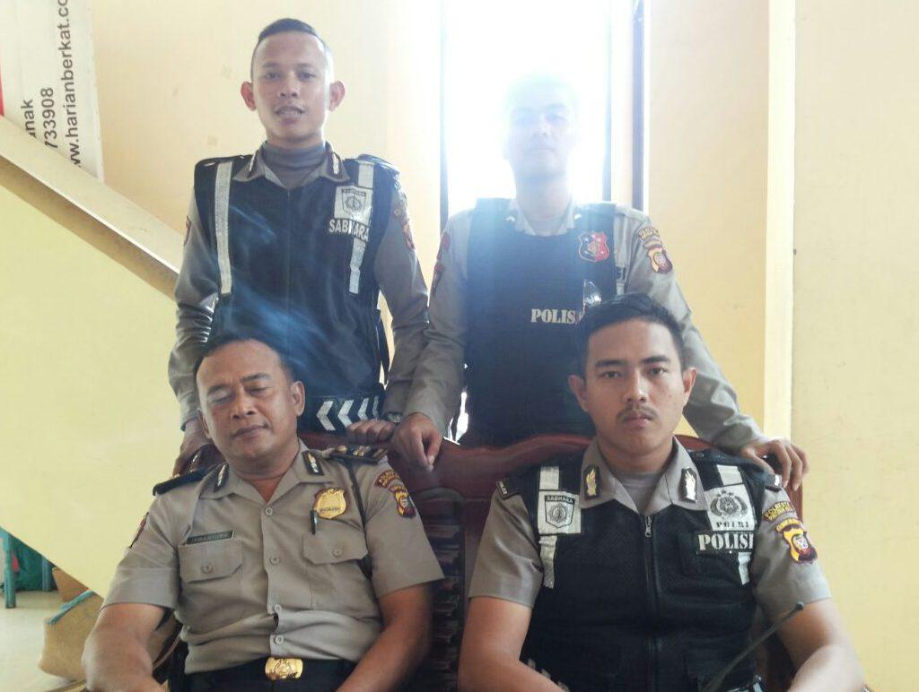 Petugas Kepolisian Sudah Lakukan Persiapan Matang Dalam Giat Pengawalan H Ir. Werry Syahrial bersama HM. Nasir Maksudi Ke Gedung Golkar