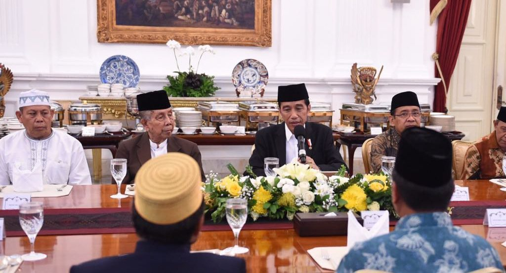 Presiden Ajak Ulama Jaga Keamanan Negara Dari Ormas Radikal