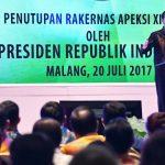 Presiden Ingatkan Pentingnya Setiap Kota Lakukan Diferensiasi