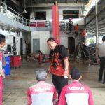 Karyawan Dikejutkan Kobaran Api Disalah Satu Ruangan