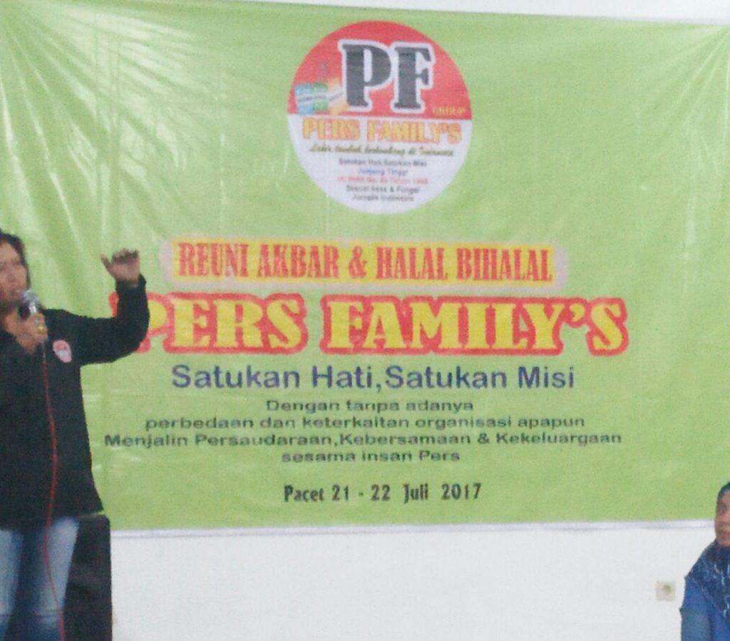 Pers Family : FPII dan MPN, Gelar Halal Bihalal Bersama
