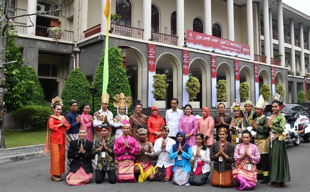 Presiden Tegaskan Pancasila Menjadi Kunci Kerukunan Hidup Bangsa Indonesia