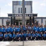 LANTAMAL XII PONTIANAK TUTUP KEGIATAN BINTAL JUANG REMAJA BAHARI TNI ANGKATAN LAUT TAHUN 2017