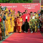 Hari Anak Nasional 2017, Presiden Ingatkan Anak-Anak Untuk Saling Menghargai