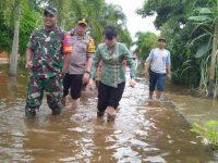 Dandim 1202 Beserta Forkopimda Tinjau Lokasi Korban Banjir