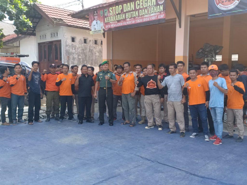 Jalin Silaturahmi, Dandim 1013/Mtw Sambangi BPBD Kab. Barut