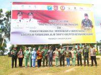 Pangdam XII/Tpr Hadiri Penandatanganan MoU Konsorsium Pembangunan Jalan Kab. Kobar