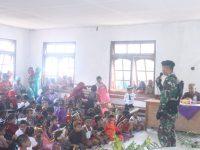 Yonif R 300/Bjw, Beri Rasa Aman dan Nyaman di Perbatasan RI-PNG
