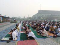 Kodam XII/Tpr Menggelar Sholat Idul Adha 1440 H Bersama Masyarakat