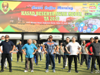 Kasad Gelar Coffee Morning dengan Awak Media