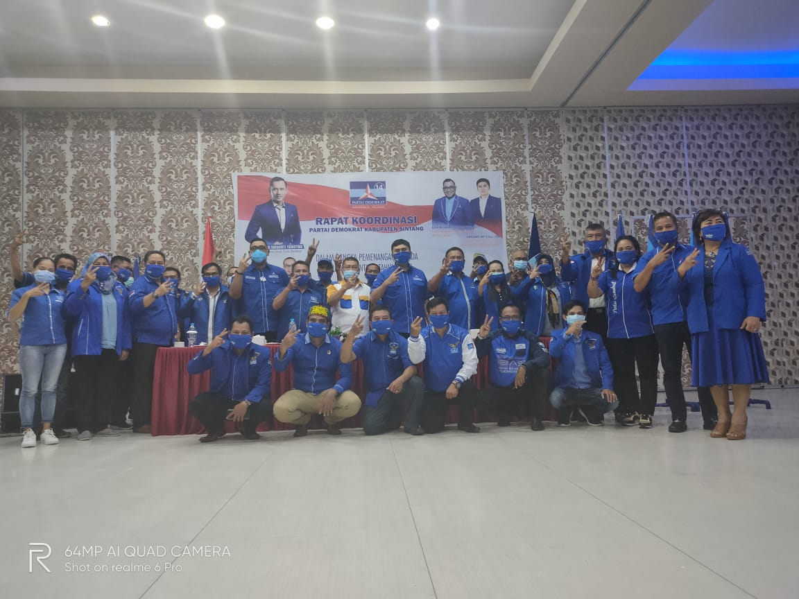 KONFERENSI PERS SATGAS PILKADA 2020 DPP PARTAI DEMOKRAT