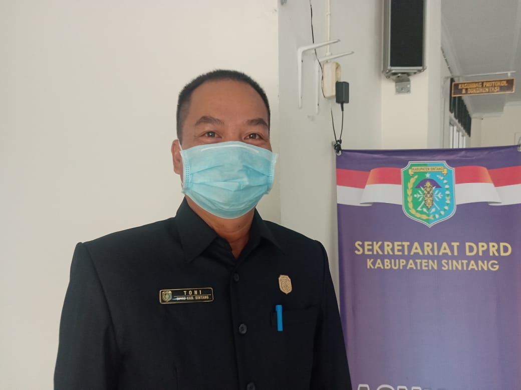 Toni Himbau Pihak Investor Berikan Sumbangsih Untuk Pembangunan Sintang