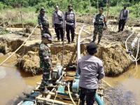 2 Set Mesin Genset PETI ILEGAL Berhasil Diamankan, Saat Patroli Gabungan TNI dan Polri