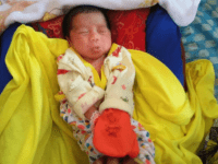 Heboh, Penemuan Bayi Perempuan Dalam Kardus Sekitar Pintu Air Dusun Parit Wak Paek Segedong