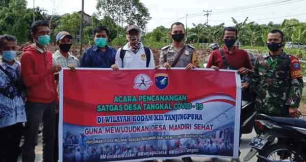 Corona Kian Mengancam Satgas Desa Tangkal Covid-19 Dicanangkan di Ampera Raya