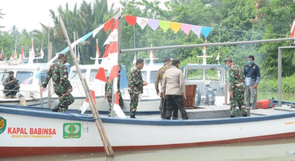 Pangdam III/Siliwangi Hadiri Launching Kapal Babinsa Merah Putih Kodim 0601/Pandeglang