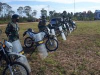 Latihan Pengamanan Pilkada Tahun 2020 oleh Pangkalan TNI AL Ketapang