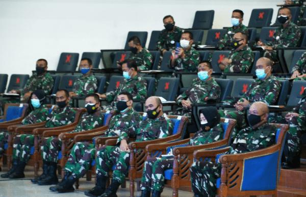 Komandan STTAL Menghadiri Kunjungan Kerja Wakasal
