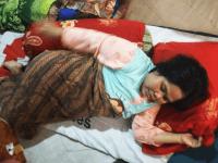 Sakit Syaraf Tulang, Juliana Hanya Bisa Pasrah dan Berharap Bantuan Medis