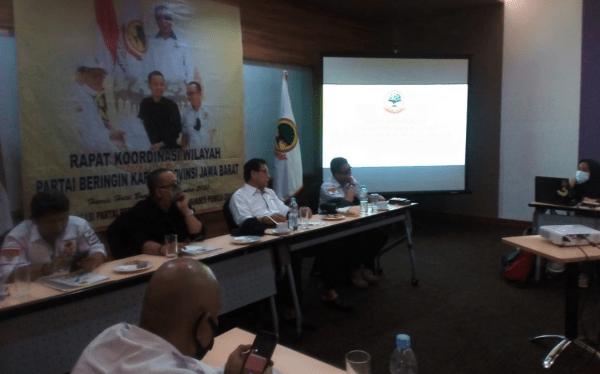 Rakorwil Partai Berkarya Provinsi Jawa Barat