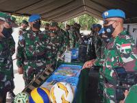 Asops Kasad : Yonif RK 644/WLS Siap Laksanakan Misi Operasi Perdamaian Dunia di Kongo