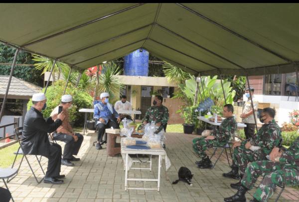 AA Gym Senang, Pangdam III/Siliwangi Silaturahmi Ke Eco Pesantren Daarut Tauhiid