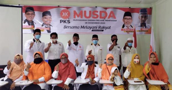 Deky Mulyadi SH Nakhoda Ketua DPD PKS Kab.Mempawah Periode 2020-2025