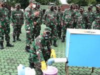 Prajurit Yonzipur-3/YW Kembangkan Teknologi Beton Apung